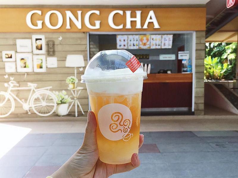 """Quán trà sữa ngon """"Trà sữa Gong Cha"""""""