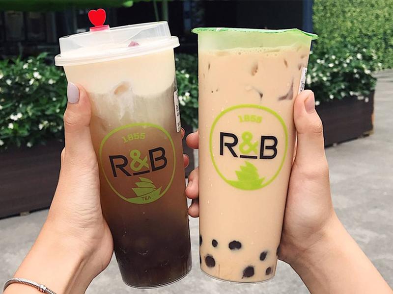 """Quán trà sữa ngon """"Trà sữa R&B"""""""