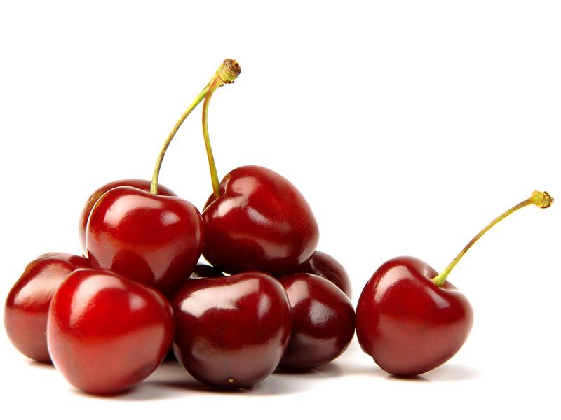 Quả anh đào giúp cơ thể giảm được hàm lượng cholesterol trong máu.