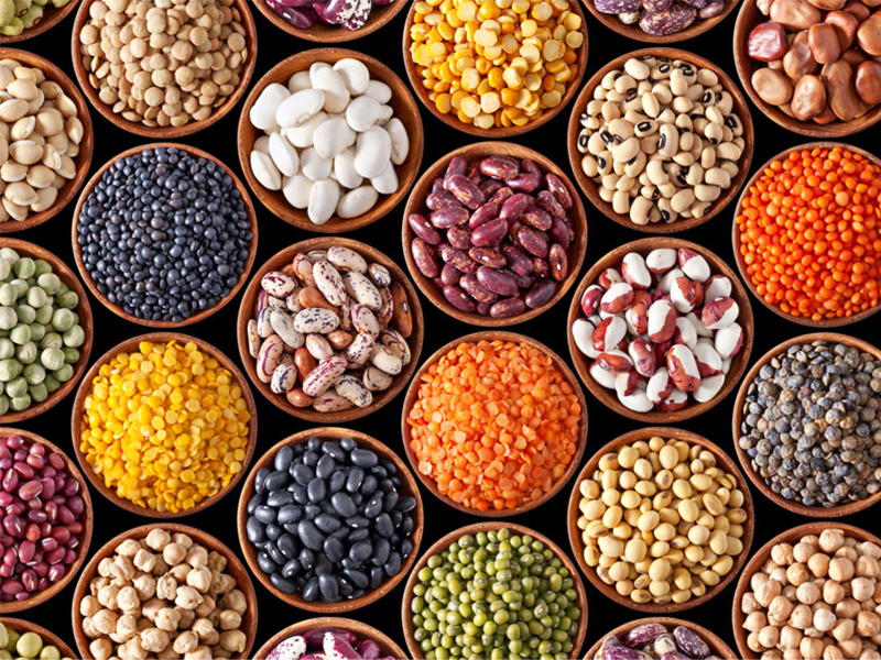 Các loại đậu cung cấp cho cơ thể một nguồn chất xơ dồi dào.