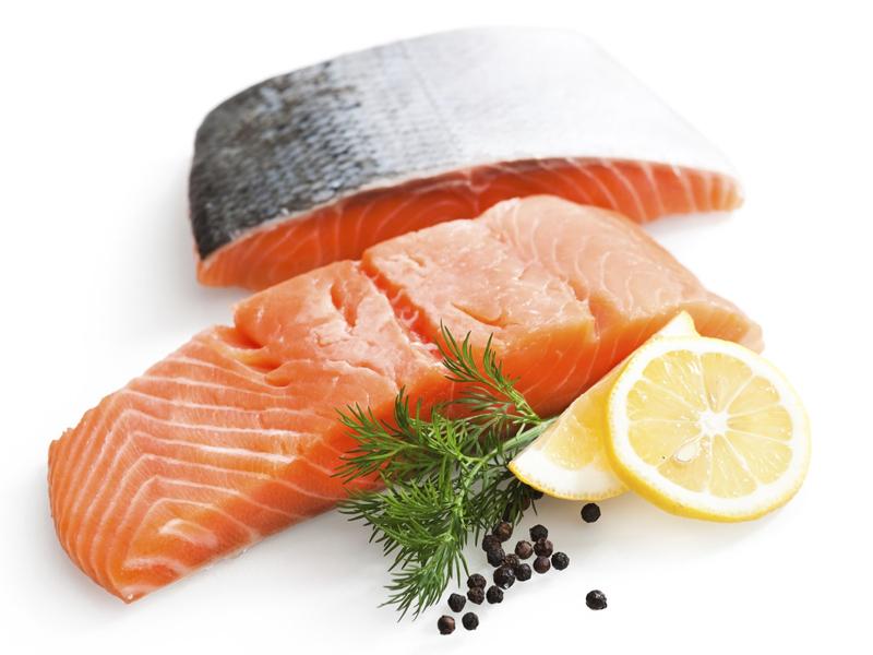 Trong cá hồi có chứa rất nhiều omega-3.