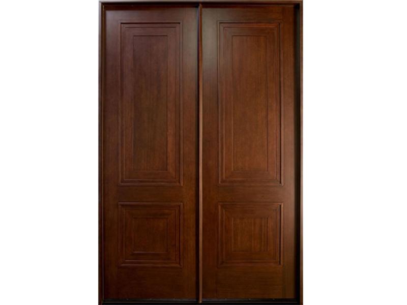 Top những mẫu cửa gỗ 2 cánh đẹp 2020 30