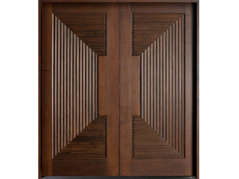 Top những mẫu cửa gỗ 2 cánh đẹp 2020 33