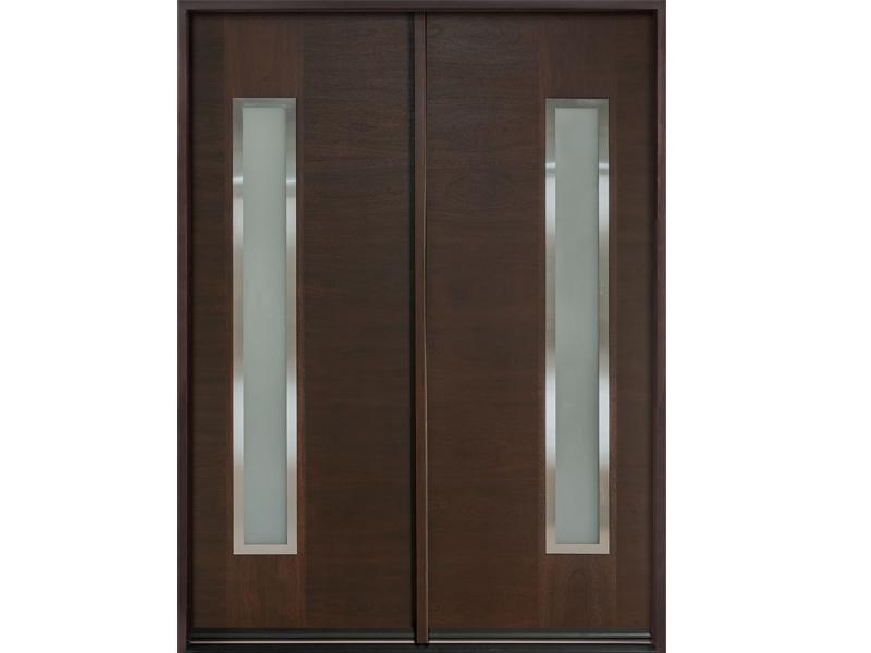 Top những mẫu cửa gỗ 2 cánh đẹp 2020 36