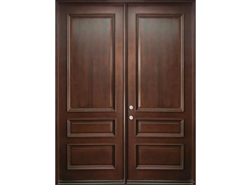 Top những mẫu cửa gỗ 2 cánh đẹp 2020 27