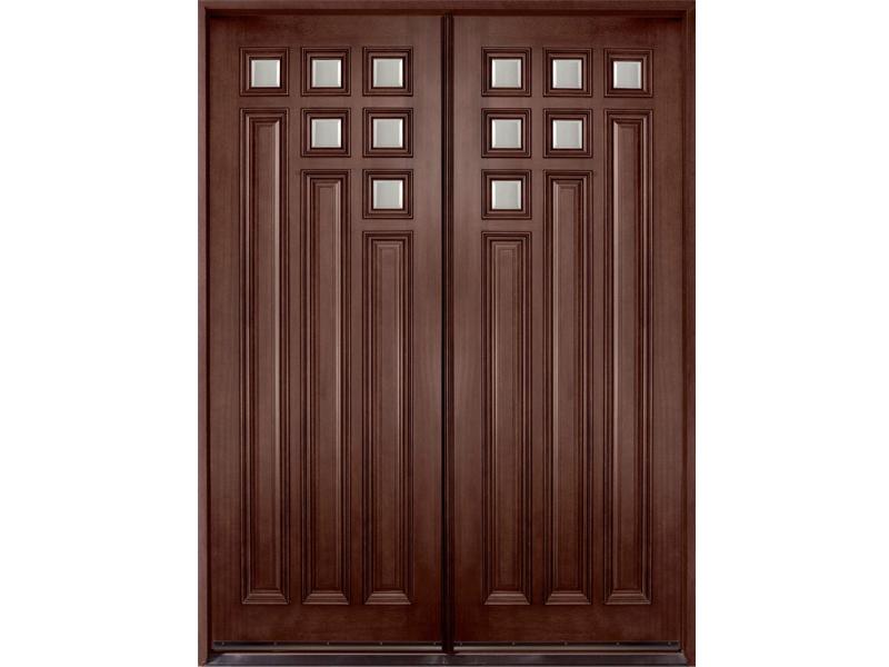 Top những mẫu cửa gỗ 2 cánh đẹp 2020 38