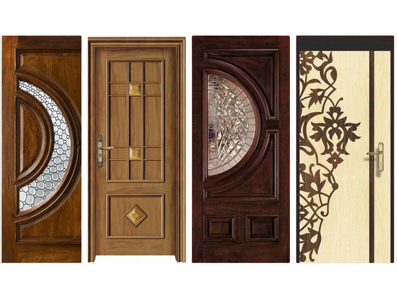 Top 4 mẫu cửa gỗ kết hợp với kính