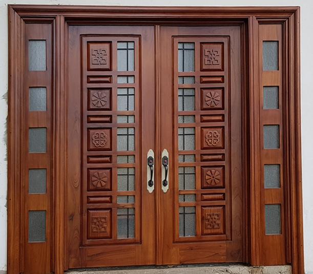 Top những cánh cửa gỗ đẹp 6