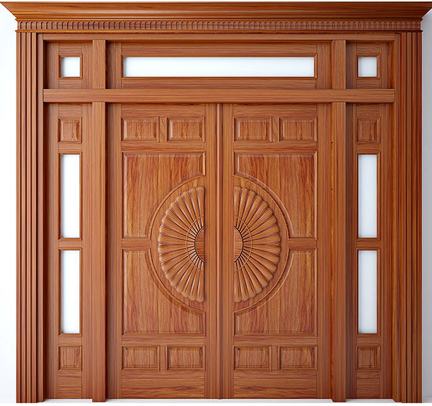 Top những cánh cửa gỗ đẹp 4