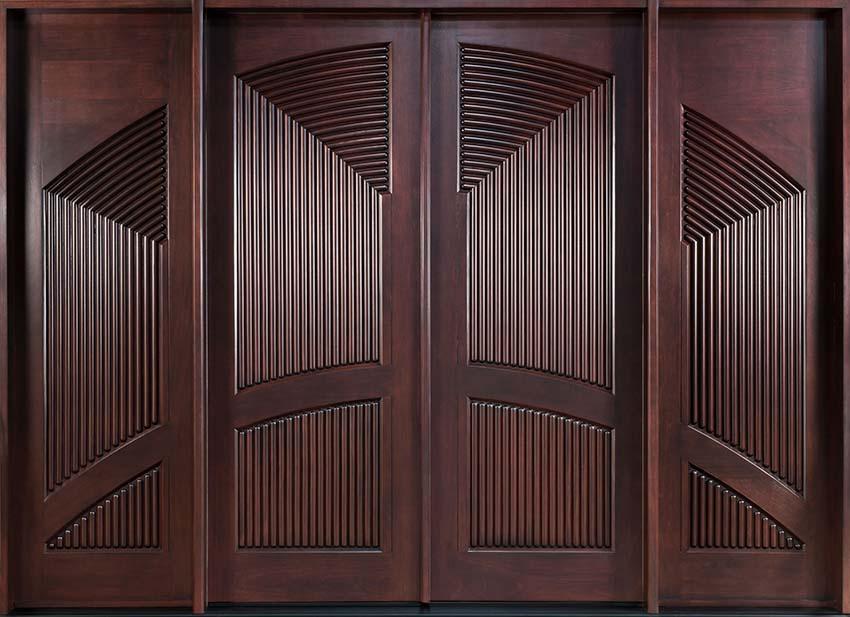 Top 10 mẫu cửa phòng gỗ đẹp 3