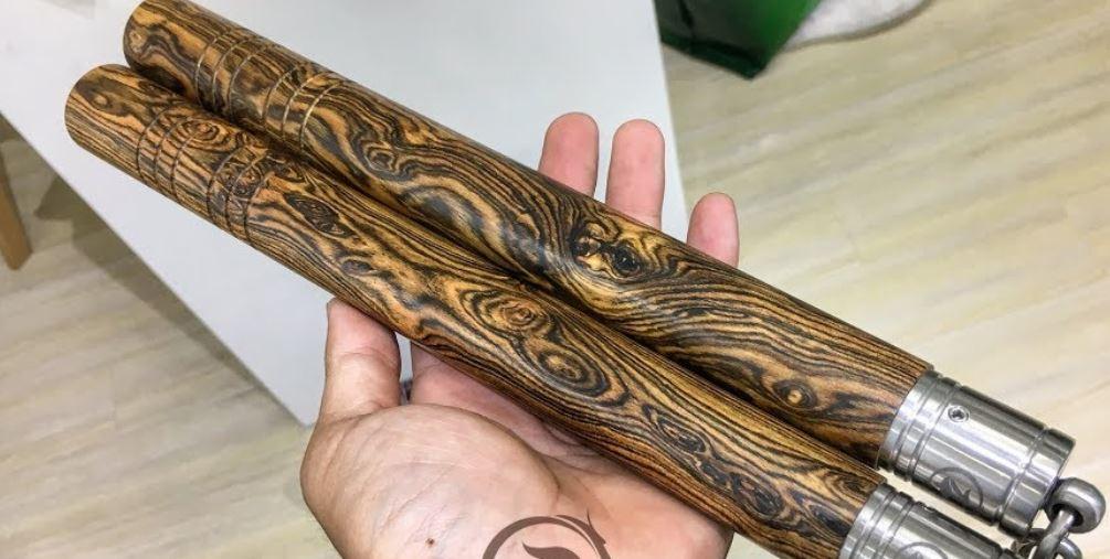 Côn làm bằng gỗ Bocote