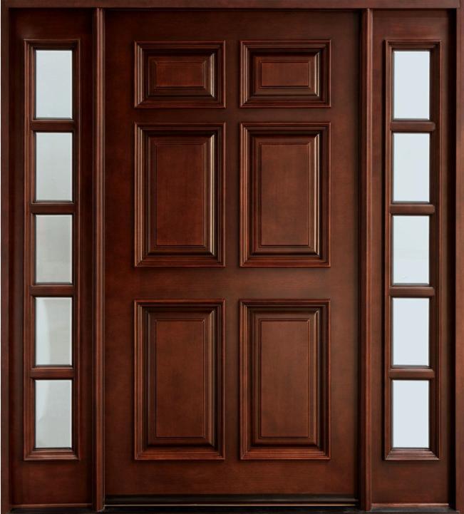 Mẫu cửa phòng gỗ 2 cánh