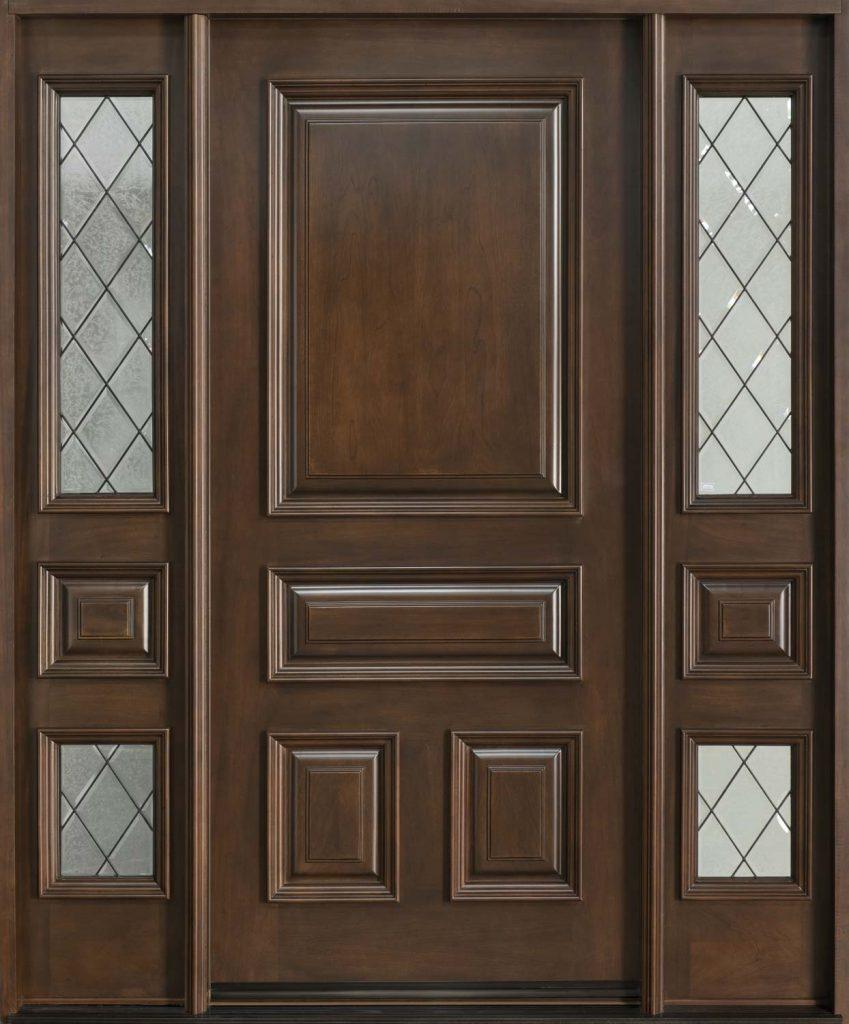 Mẫu cửa phòng gỗ cổ điển mà cao cấp