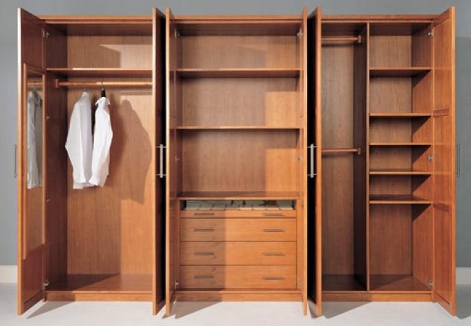 Mẫu tủ quần áo gỗ xoan đào