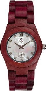 Đồng hồ làm từ  Gỗ Purple Heart