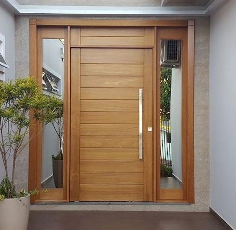 Top 20+ mẫu cửa gỗ phòng khách đẹp 2020 17