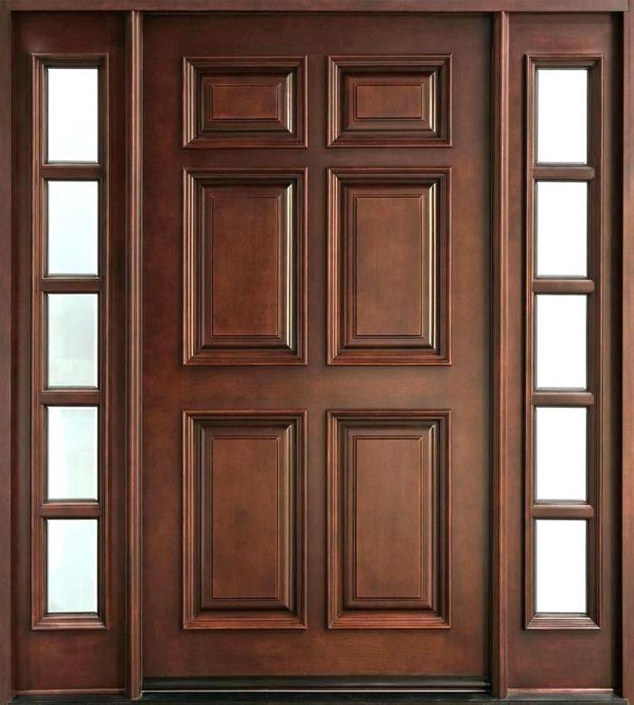 Top 20+ mẫu cửa gỗ phòng khách đẹp 2020 5