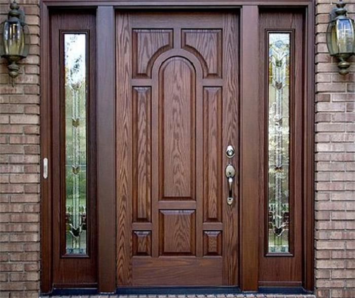 Top 20+ mẫu cửa gỗ phòng khách đẹp 2020 6