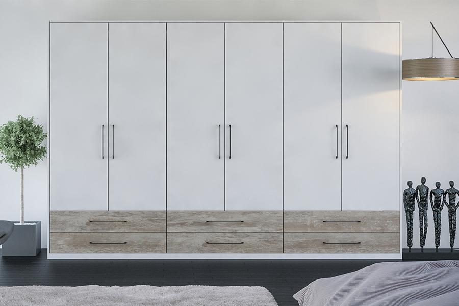 Vật liệu để làm tủ quần áo dù là gỗ công nghiệp hay gỗ tự nhiên đều đảm bảo được tính sản xuất và nhu cầu sử dụng bền bỉ.