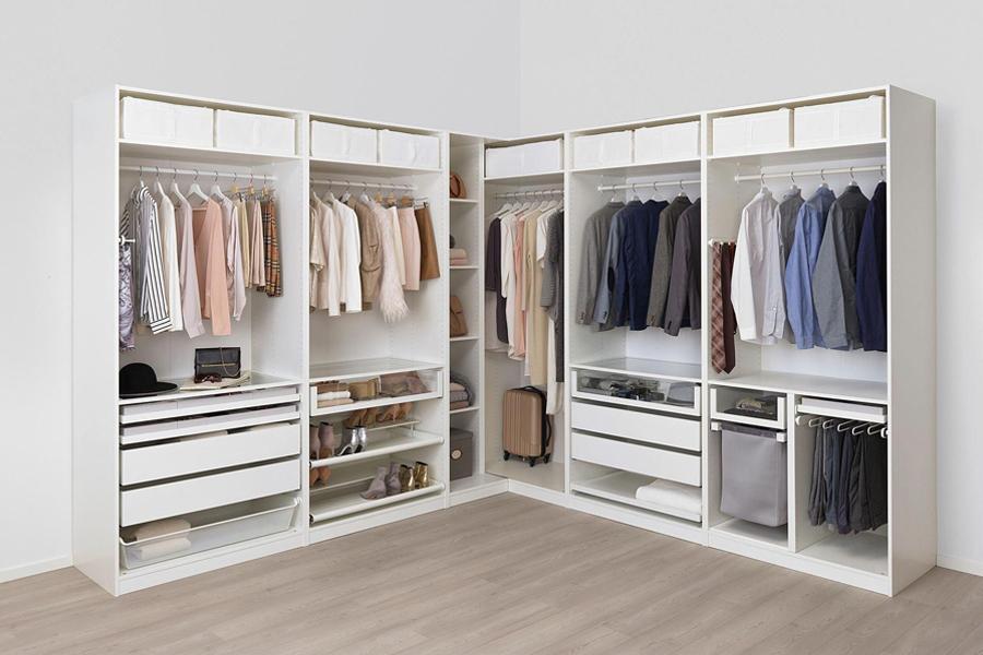 Kiểu dáng ưu điểm lớn nhất của dòng tủ quần áo gỗ công nghiệp là những thiết kế đa năng đầy phong cách trẻ trung, hiện đại.