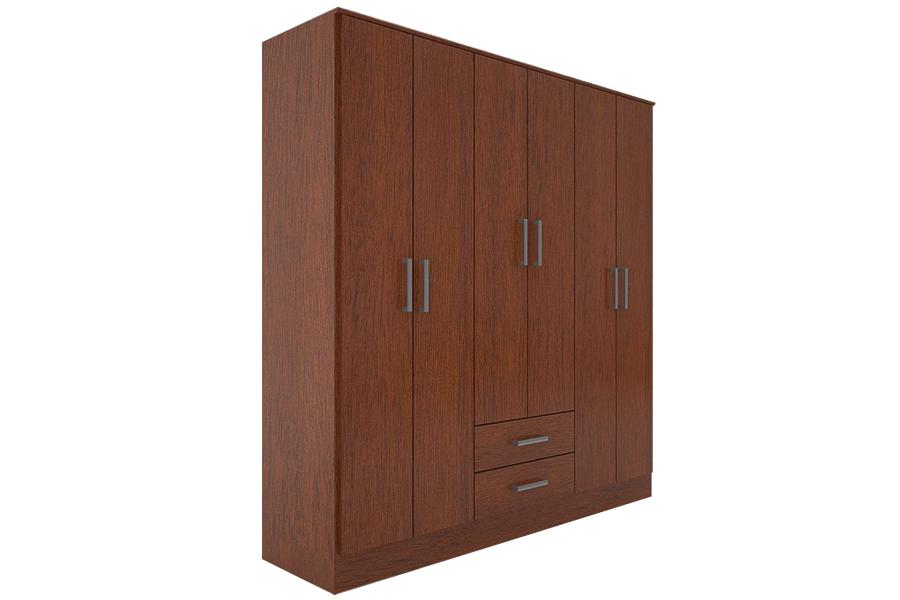 Mẫu tủ quần áo gỗ cửa mở dành cho những phòng ngủ có không gian rộng rãi.