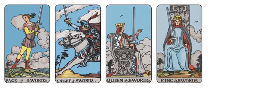 Ý nghĩa 78 lá bài tarot theo chuẩn Rider Waite Smith - Bộ Swords