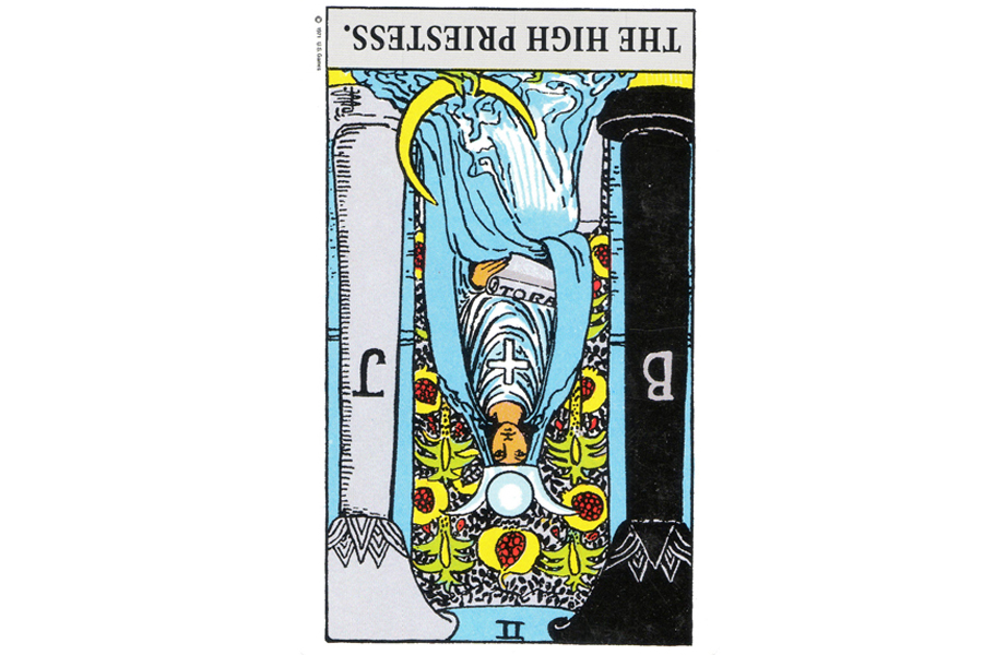 Ý nghĩa ngược của The High Priestess