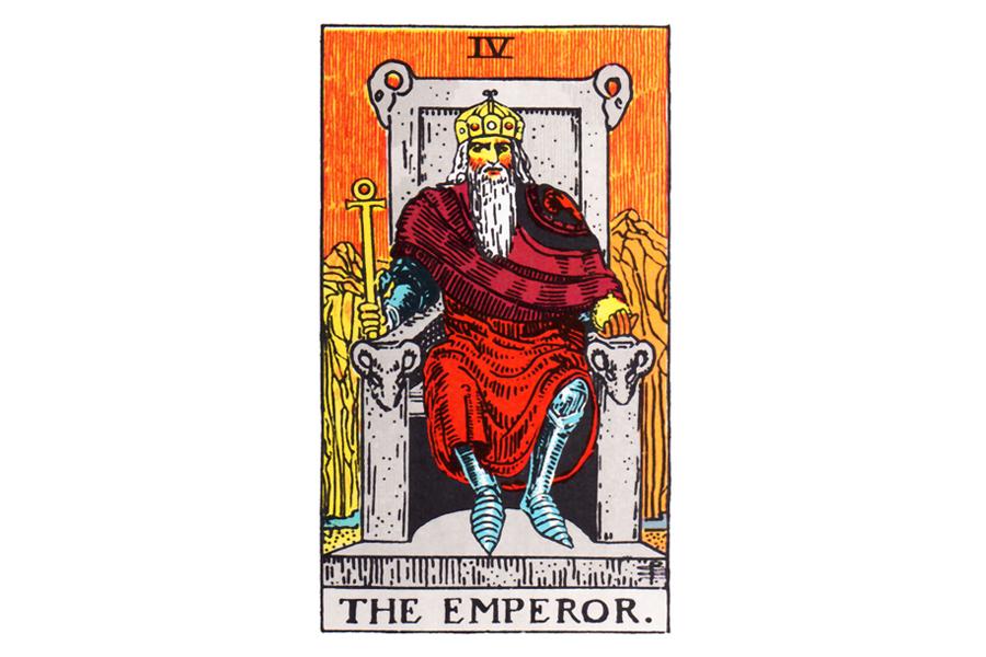 Lá bài The Emperor trong Tarot theo chuẩn Rider Waite Smith