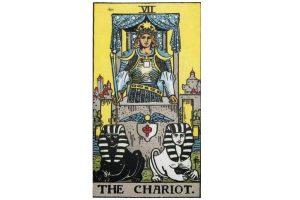 Ý nghĩa lá bài The Chariot trong Tarot theo chuẩn Rider Waite Smith 2