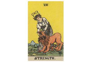 Ý nghĩa lá bài Strength trong Tarot theo chuẩn Rider Waite Smith 1