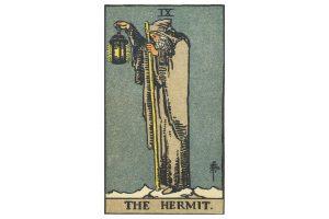 Ý nghĩa lá bài The Hermit trong Tarot theo chuẩn Rider Waite Smith 3