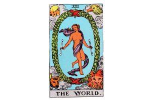 Ý nghĩa lá bài The World trong Tarot theo chuẩn Rider Waite Smith 1