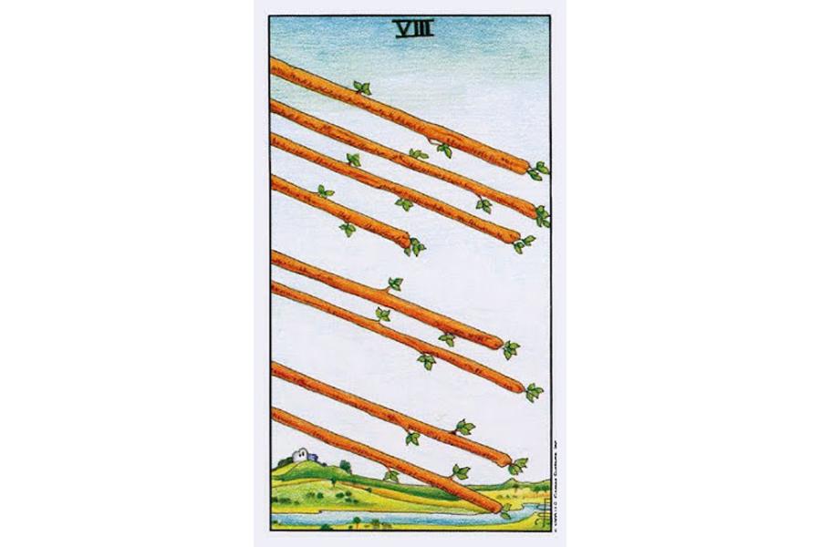 Ý nghĩa lá bài Eight Of Wands trong Tarot theo chuẩn Rider Waite Smith 7