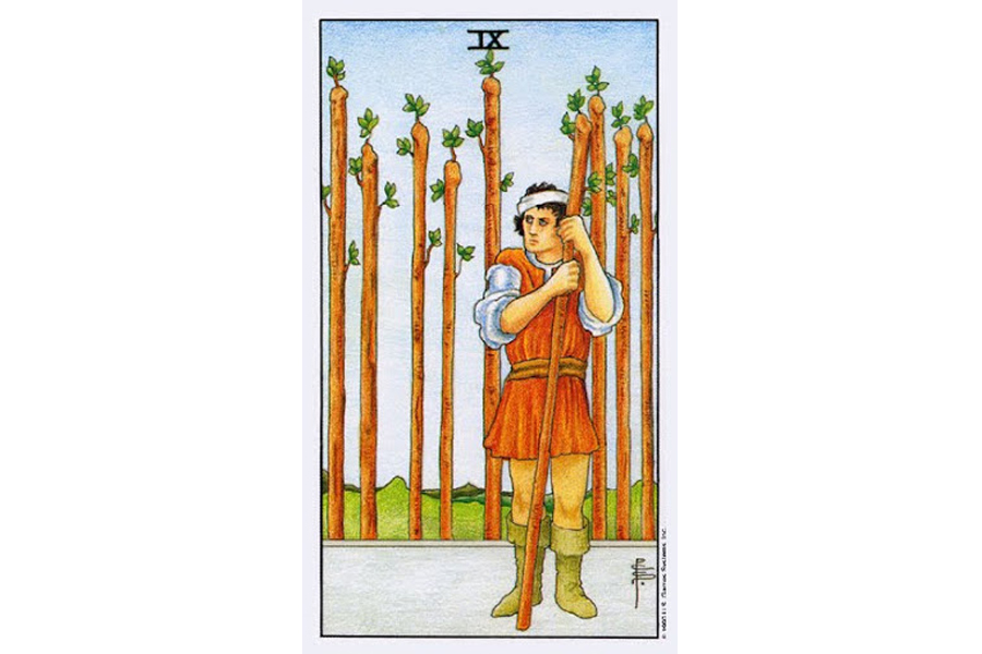 Ý nghĩa lá bài Nine Of Wands trong Tarot theo chuẩn Rider Waite Smith 6
