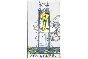 Ý nghĩa lá bài Ace Of Cups trong Tarot theo chuẩn Rider Waite Smith 4