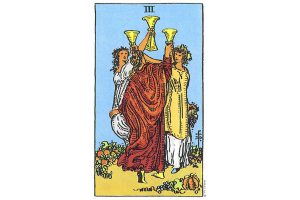 Ý nghĩa lá bài Three Of Cups trong Tarot theo chuẩn Rider Waite Smith 2