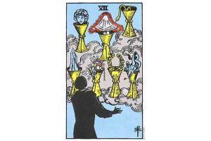 Ý nghĩa lá bài Seven Of Cups trong Tarot theo chuẩn Rider Waite Smith 8