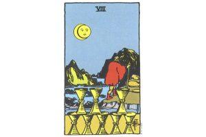 Ý nghĩa lá bài Eight Of Cups trong Tarot theo chuẩn Rider Waite Smith 7