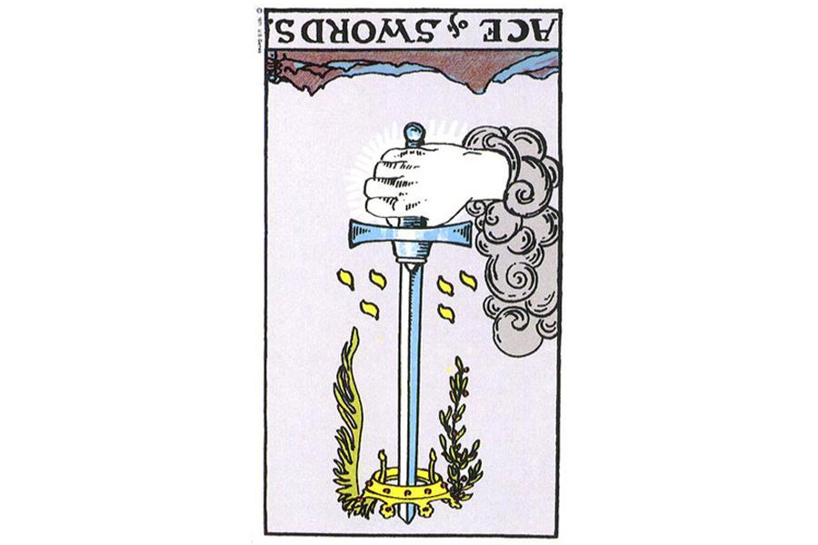 Ý nghĩa ngược của Ace of Swords