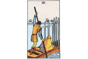 Ý nghĩa lá bài Six Of Swords trong Tarot theo chuẩn Rider Waite Smith 8