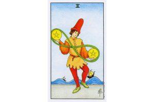 Ý nghĩa lá bài Two Of Pentacles trong Tarot theo chuẩn Rider Waite Smith 5