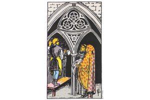 Ý nghĩa lá bài Three Of Pentacles trong Tarot theo chuẩn Rider Waite Smith 4