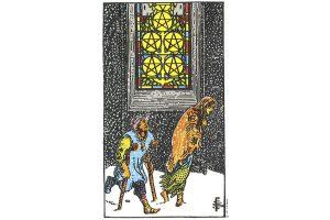 Ý nghĩa lá bài Five Of Pentacles trong Tarot theo chuẩn Rider Waite Smith 2