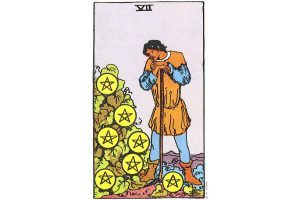 Ý nghĩa lá bài Seven Of Pentacles trong Tarot theo chuẩn Rider Waite Smith 8