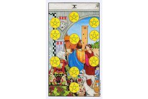 Ý nghĩa lá bài Ten Of Pentacles trong Tarot theo chuẩn Rider Waite Smith 5