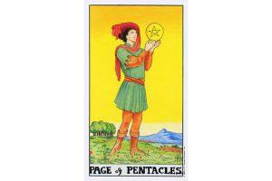 Ý nghĩa lá bài Page Of Pentacles trong Tarot theo chuẩn Rider Waite Smith 4
