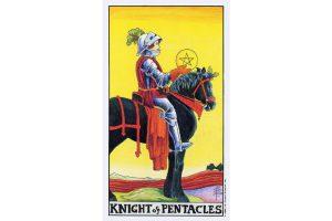 Ý nghĩa lá bài Knight Of Pentacles trong Tarot theo chuẩn Rider Waite Smith 3