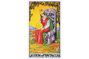 Ý nghĩa lá bài Queen Of Pentacles trong Tarot theo chuẩn Rider Waite Smith 2