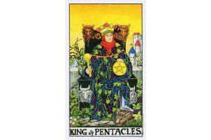 Ý nghĩa lá bài King Of Pentacles trong Tarot theo chuẩn Rider Waite Smith 1