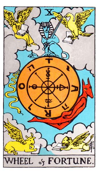 Ý nghĩa biểu tượng 78 lá bài Tarot theo chuẩn Rider Waite Smith 11